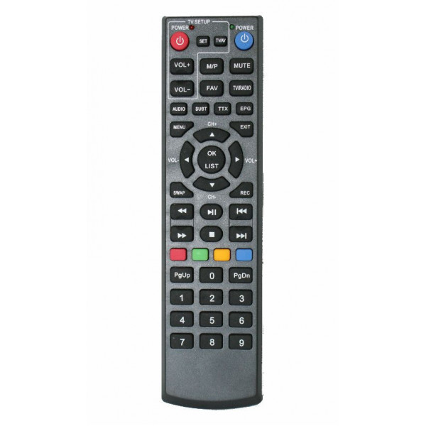 POWERTECH Learning remote Control για αποδικωποιητή PT-240